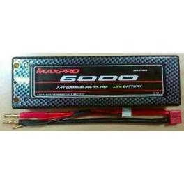 Maxpro Batería LiPO 7,4v 50C 6000mAh