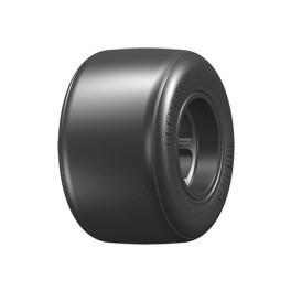 GRP F1 - S2 F10 Traseras Pegadas en Llantas F104 Negra ruedas para F1 1:10 GFX20-S2