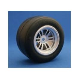 Ride R-1 ruedas traseras F1 3Racing FGX montadas y pegadas
