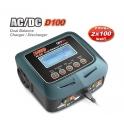 Skyrc Cargador Dual D100 2x100W AC/DC