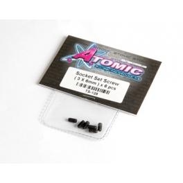 Atomic 3x6mm Thread Lock Set Screw