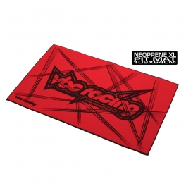 VBC Racing Tapete de Neopreno XL Rojo