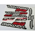 VBC Lightning FX18 Adhesivos Cortados