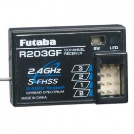 Futaba R203GF Receptor S-FHSS 2.4Ghz HV