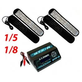GT Power Calentadores de Ruedas con Mantas 1/8 y 1/5