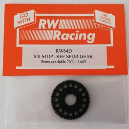 RW Racing 64P Machined Spur for Sphere Diff