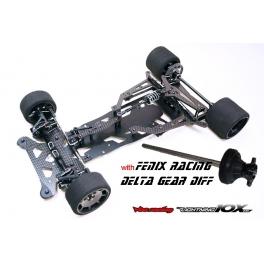 VBC Lightning10X235 1:10 Kit Pan Car + Diferencial Fenix Delta