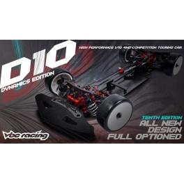 VBC WildFireD10 Touring 1/10 190mm Kit + camiseta VBC Spain + Portes gratis