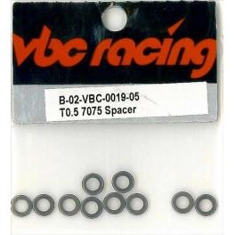 VBC Arandelas aluminio 0,5mm