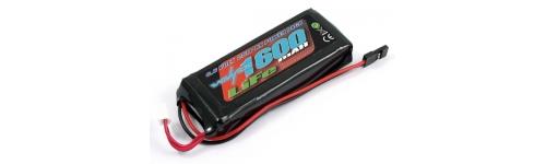 Baterías receptor/emisora