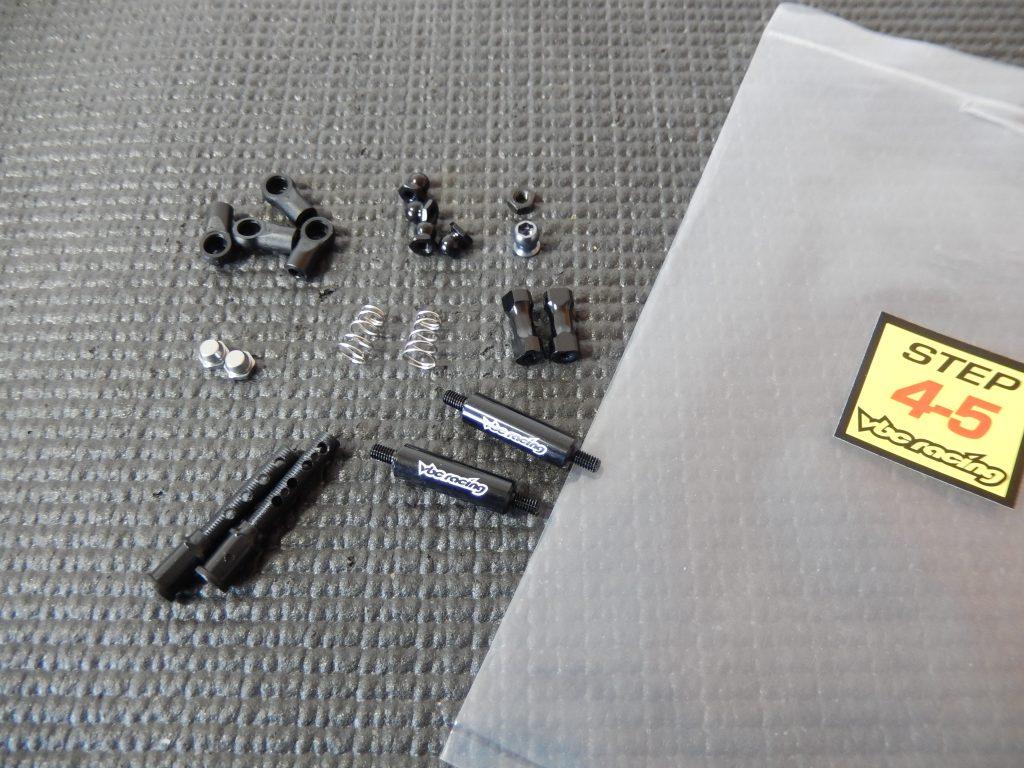 Algunas partes de los pasos 4-5, montaje del VBC LightningFXM